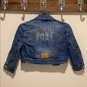 Vintage Baby Phat Jean Crop Jacket